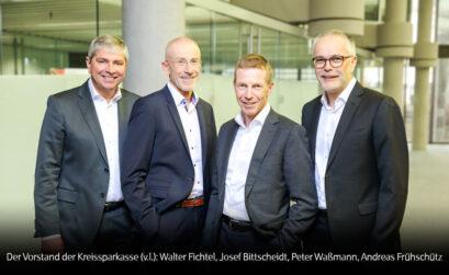 Der Vorstand der Kreissparkasse München Starnberg Ebersberg