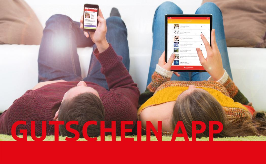 Gutschein App der Kreissparkasse - regionale Vorteile für Dich!