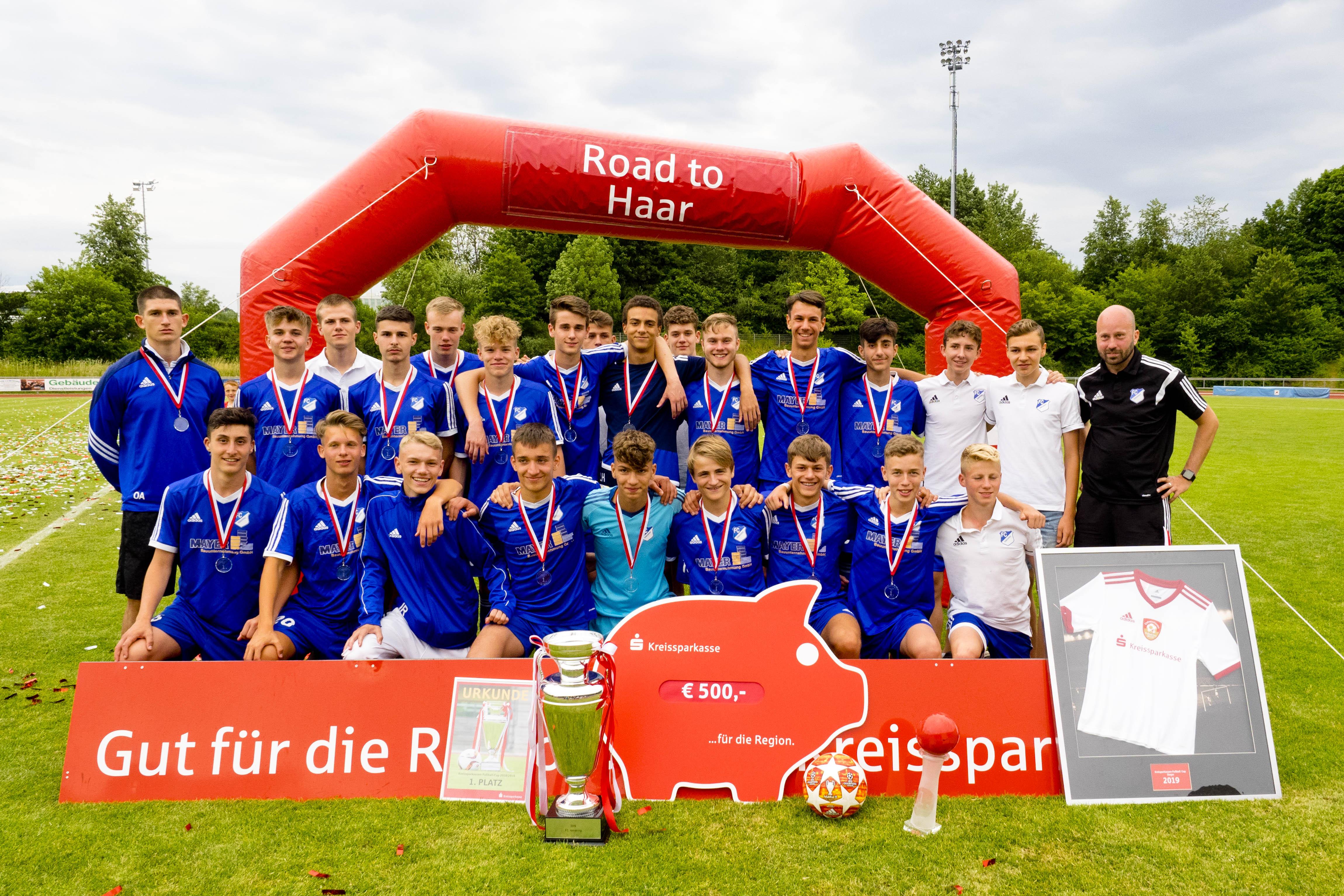 Wir gratulieren dem FC Ismaning zum Sieg im Kreissparkassen-Fußball-Cup 2019!