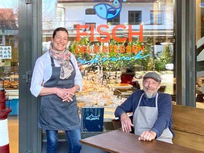 """<h36>""""Fisch delikat essen"""" bei Fischdelikatessen Schrank</h36>"""