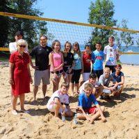 Beachvolleyball-Training am Ammersee mit den Profis vom Geilsten Club der Welt (TSV Herrsching)